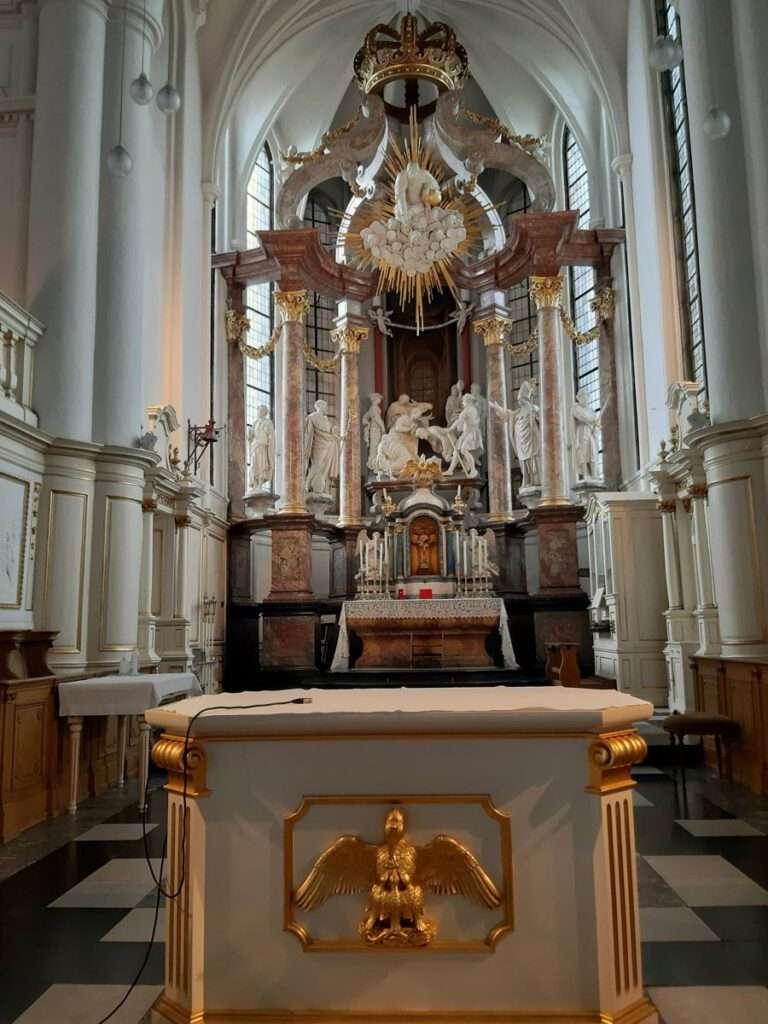 interieur abdijkerk