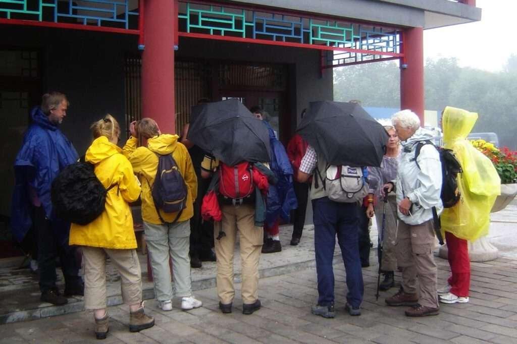 groep chinese muur