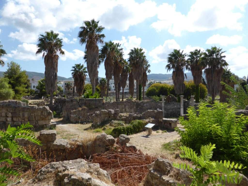 ruïne Kos stad