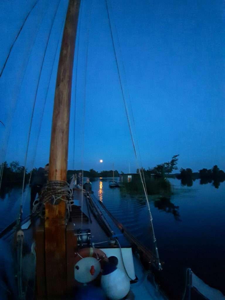 nacht in de haven
